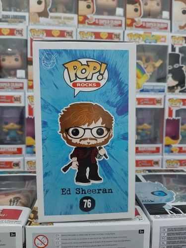 Funko Pop Rocks Ed Sheeran #76