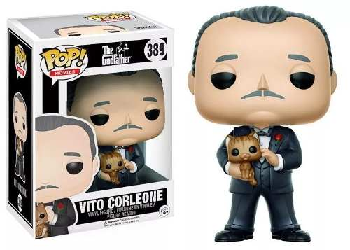 Funko Pop Poderoso Chefão Godfather Vito Corleone #389