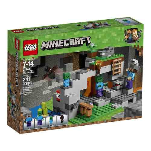 Lego 21141 Minecraft Caverna Do Zumbi