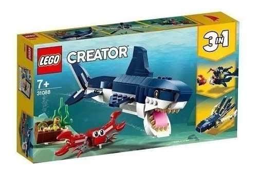 Lego Creator Criaturas Do Fundo Do Mar 31088