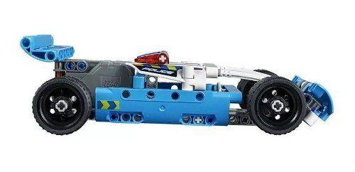 Brinquedo Lego Technic Perseguição Policial 120 Peças 42091