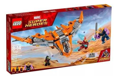 Lego Super Heroes 76107 Thanos A Batalha Final