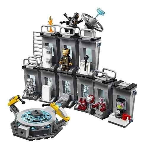 Lego Marvel Homem De Ferro Salão De Armaduras 76125