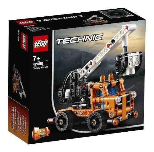 Lego Technic 42088 2 Em 1 Caminhões De Trabalho