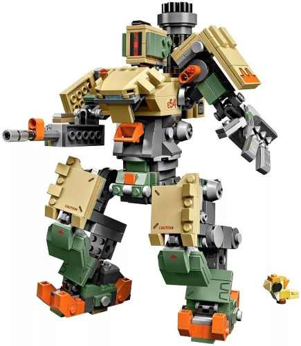 Lego Overwatch Bastion 602 Peças 75974