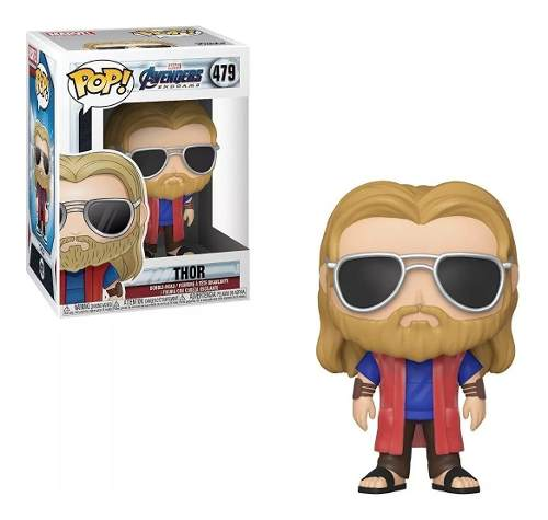 Marvel Os Vingadores Ultimato Boneco Pop Funko Thor #479