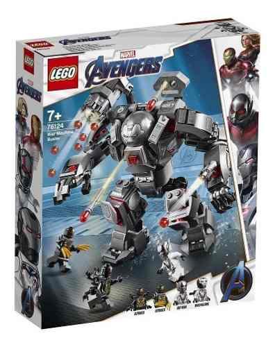 Lego Marvel Vingadores Maquina De Guerra Destruidora 76124