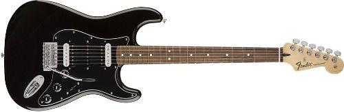 Guitarra Fender 014 9203 Standard Strato Pau Ferro 506 Black