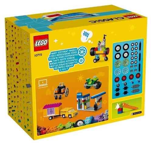 Lego Caixa Classic 10715 Bricks On A Roll - Caixa 442 Peças