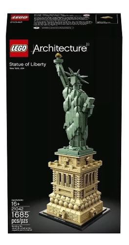 Lego Architecture 21042 Statue Da Liberdade New York