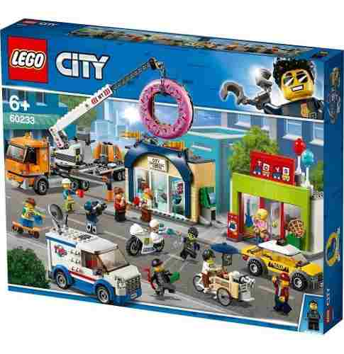 Lego 60233 City - A inauguração da Loja de Donuts