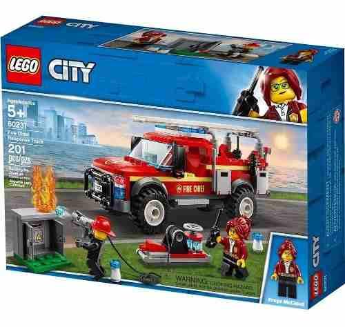 Lego 60231 Caminhão Chefe dos Bombeiros Original Frete Gratis