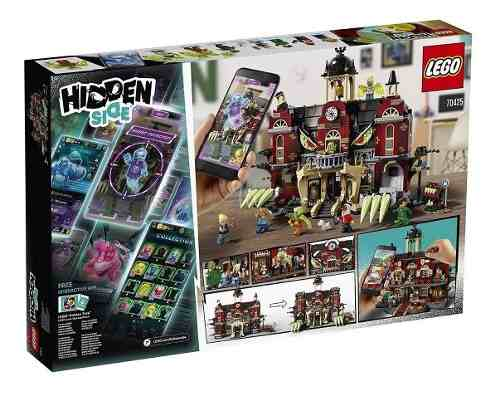Lego 70425 Hidden Side Escola Assombrada De Newbury