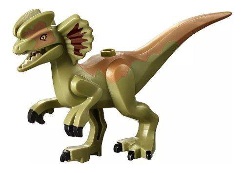 Lego 75934 Jurassic World - Dilophosaurus À Solta Original