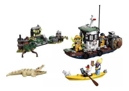 Lego Hidden Side 70419 Barco De Pesca De Camarão Naufragado