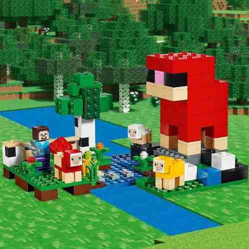 Lego Minecraft - Fazenda De Lã - 21153