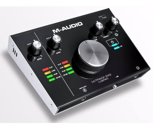 M-audio M-track 2x2 Interface De Áudio Usb Fast