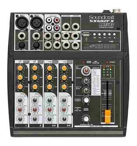 Mesa De Som Soundcraft Sx602fx Sx602