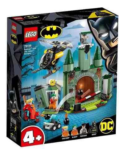 Lego Batman Dc Comics Super Heroes A Fuga Do Coringa 76138