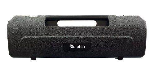 Escaleta 37 Teclas Estojo Bocais Dolphin Preta Super Afinada