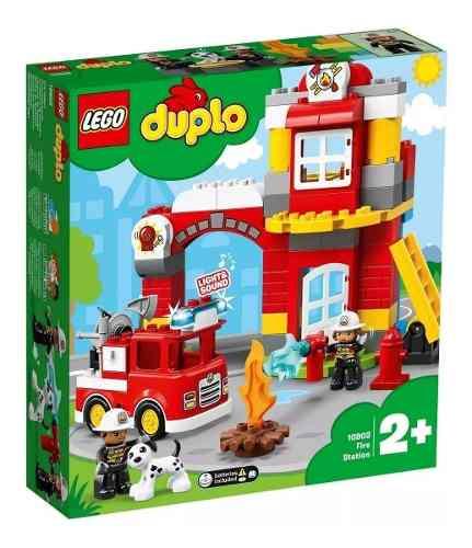 Brinquedo Infantil Lego Duplo 10903 Quartel Dos Bombeiros