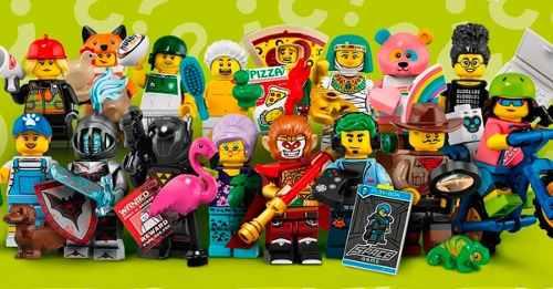 Set Completo Minifigures Series 19 Lego 71025 Com 16 Bonecos