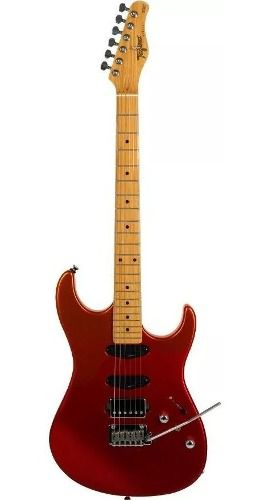 Guitarra Tagima Brasil Stella H3 Vermelho Outono Metálico