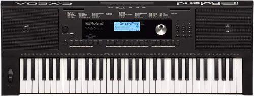 Teclado Arranjador Roland E X20a 128 Vozes 61 Teclas