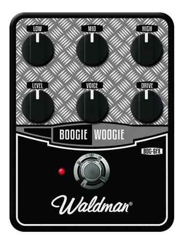 Pedal Guitarra Bog 6 Fx Boogie Woogie Waldman