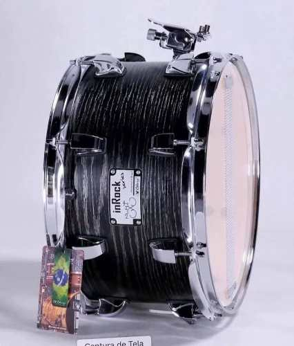 Caixa De Bateria 14x7 Odery Inrock Black Ash Limited Edition