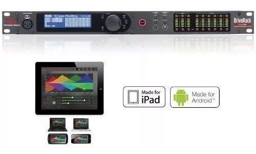 Processador De Audio Digital Dbx Driverack Venu 360 Bivolt