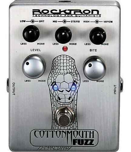 Pedal De Efeitos Rocktron Cottonmouth Fuzz Para Guitarra