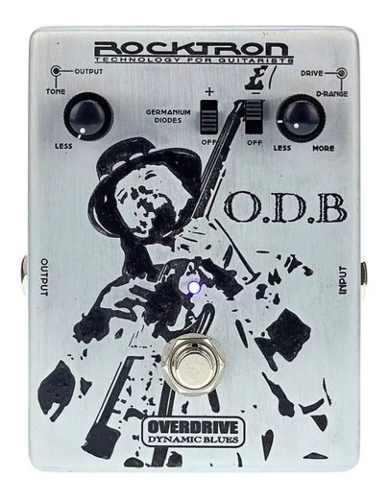 Pedal Para Guitarra Rocktron Odb Overdrive Dynamic Blues ts9