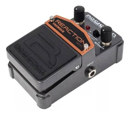 Pedal De Efeitos Rocktron Reaction Tremolo Para Guitarra