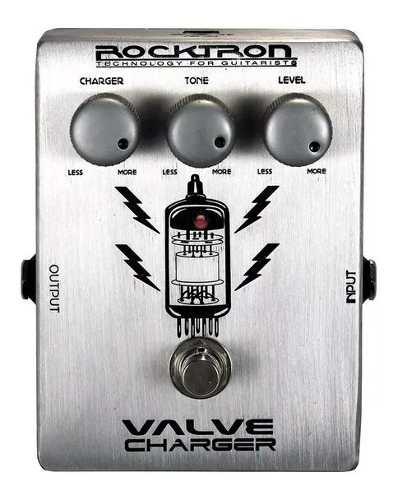 Pedal Guitarra Rocktron Valve Charger Valvulado Overdrive