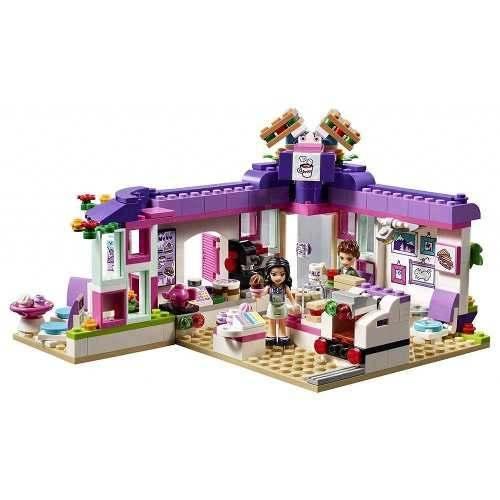 Lego 41336 Friends O Cafe De Arte Da Emma