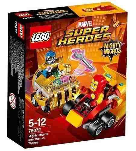 Lego 76072 Super Heroes Iron Man Vs Thanos