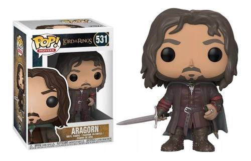 Funko Pop Aragorn Lord Of The Rings Senhor Dos Aneis #531