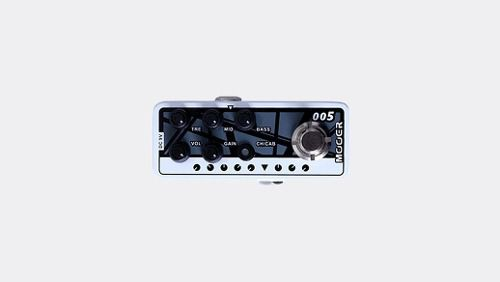 Pedal Mooer Brown Sound 3 M005 Pré Amp Guitarra 5150