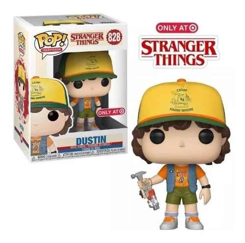 Funko Pop Tees Collection Stranger Things Dustin Camiseta G