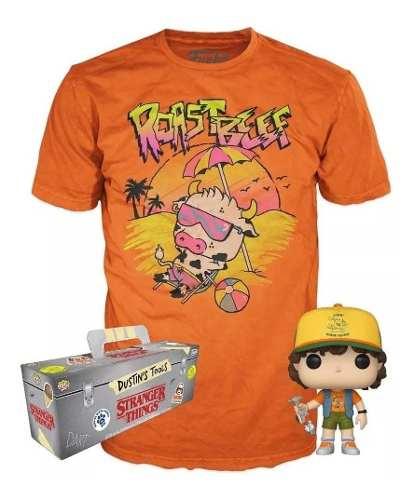 Funko Pop Tees Collection Stranger Things Dustin Camiseta P