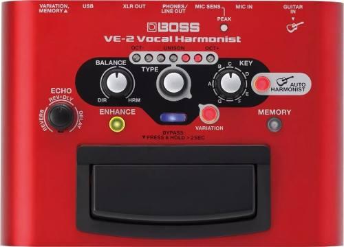 Processador Vocal Boss Ve 2 Vocal Harmonist Ve2