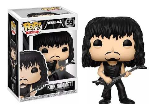 Metallica - Boneco Pop Rock Funko Kirk Hammett #59