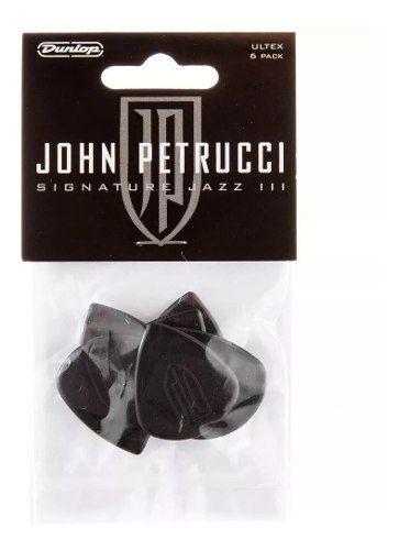 Kit 6 Palhetas Dunlop John Petrucci 1.5mm