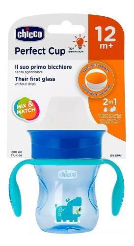 Copo Perfect 360 Cup Azul Menino 12m+ Chicco