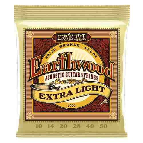 Encordoamento Violão Aço Ernie Ball Earthwood 2006