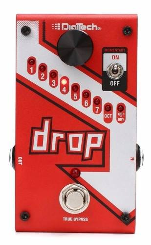 Pedal Digitech The Drop Tune Pitch Shifter + Fonte
