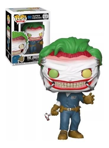 Funko Pop! Heroes: Batman The Joker Exclusive #273 O Coringa