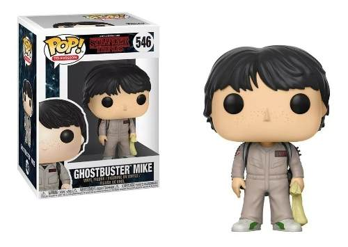 Funko Pop Television Stranger Things Ghostbuster Mike 546