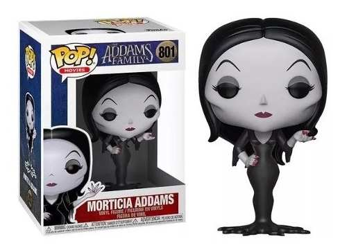 Pop Morticia Addams 801 The Addams Family - Funko